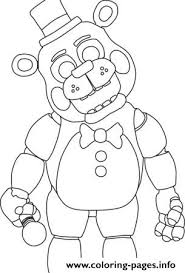 Fnaf 3 Coloring Pages At Getdrawingscom Free For Personal Use
