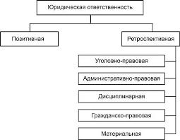Юридическая ответственность Основы права Виды юридической ответственности