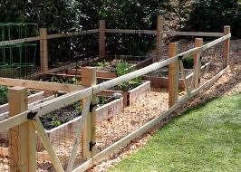 Kitchen Garden Fence A Simple Garden Fence Tillys Nest