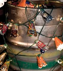Beer Can String Lights  Extract from Beer Crafts by Shawn Gascoyne-Bowman   How To Make Fairy Lights