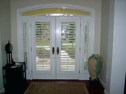 front door sidelight blindsFront Door Colors For White House With Green Shutters Sidelight