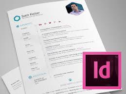 Indesign Modern Resume Indesign Template Hexagon Vita Resume Cv Inspiration