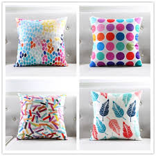 bright colored pillows. Modren Bright Colorful Polka Dots Throw Pillows For Grey Couch Bright Colors Cushions In Bright Colored Pillows E