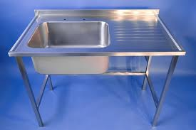 free standing sink. Stainless Steel Free Standing Sink L