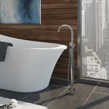 faucet for freestanding bathtub. ove decors athena chrome 1-handle adjustable freestanding bathtub faucet for o