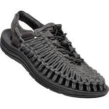 Uneek Design Keen Mens Uneek Leather Sandal 11 5 Magnet Black Sc