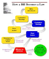 Law Making Flow Chart Bill Becomes A Law Flowchart Flow Chart Of Legislative Bill