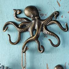 lofty design ideas octopus wall decor modern decoration spi swimming key hook 34061 target wood decals for