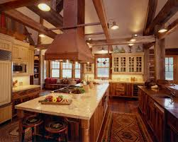 Country Rustic Kitchen Designs Rustic Home Interiors With The Rusted Metal Hood Give This