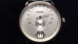 chanel unveils the monsieur watch at baselworld 2016