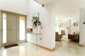 Entry Room Tables Glass Console Table Entrance Hallway Home Design Magazines Kerala