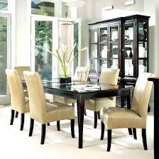 dark table white chairs black dining room why you should one tables and wood washed wooden lamp c
