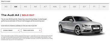new car release 2016 malaysiaB9 Audi A4 teased on Malaysian website coming soon