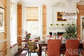 rug moattar creamware interiors market monogrammed linens custom through gramercy home goblets and bud vases erika reade ltd custom banquette and window