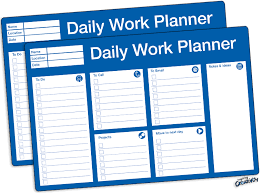 Printable Daily Schedule Planner Fellowes
