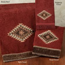 colton southwest bath towel set within red bath towels and rugs