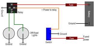 fog light help the h a m b Through Fog Light Relay Wiring auxiliary lights should be wired using relays fog light relay wiring