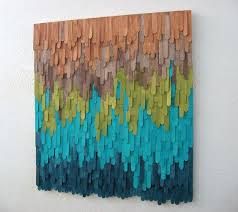 Image Creative looks Diyable With Dyed Popsicle Sticks Wood Wall Art By Modernrusticart Pinterest Looks Diyable With Dyed Popsicle Sticks Wood Wall Art By