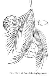 Small Picture Christmas Fun Coloring Pages Tree Branch