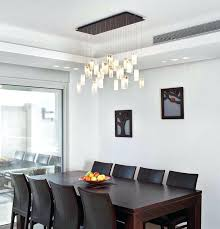 over dining table lighting. Contemporary Chandelier For Dining Room Drops Lighting Over Table