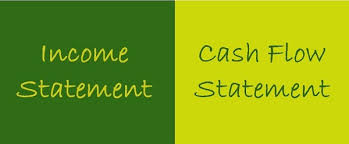Cash Flow Comparison Difference Between Income Statement And Cash Flow Statement