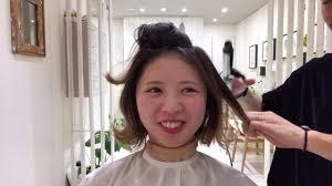 韓国で人気のボブタンバルモリナチュラルさんのための似合わせ術