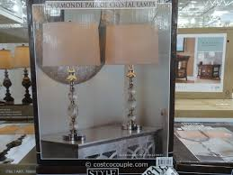 stylecraft crystal table lamp set costco 3