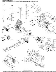 Oil pan lubrication 3 24 721 ch18 750 on kohler engine diagram 12 5 mand