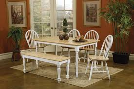 Rustic Round Kitchen Tables Bench Rectangle Kitchen Table With Bench With Exquisite Rustic