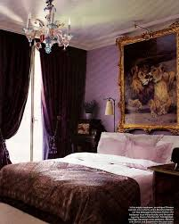 A Resounding, Regal Purple Bedroom