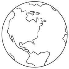 Globe Coloring Pages 2 Clipart Panda Free Clipart Images