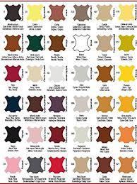 Tarrago Dye Color Chart Quick Color Leather Repair Dye Color For Shoes Boots Bags