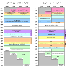 Wedding Day Timeline Excel Popular Sample Wedding Day Timeline Reception Tower