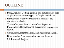 Data Analysis Report Writing Ppt Download