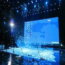 3d holographic rear projection screen for large stage 2