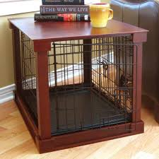 furniture pet crate. Bertie Deluxe Pet Crate In Brown Furniture