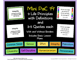 Life Quote Posters Mini PaC 'A' Life Principle Definition and Quote Posters 41
