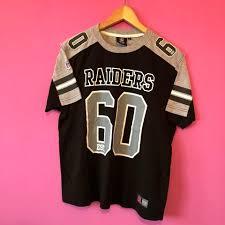 T-shirt - Jersey Oakland Nfl Raiders Depop Vintage
