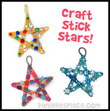 Craft Stick Star Bible Craft For Sunday School From Www Christmas Sunday School Crafts