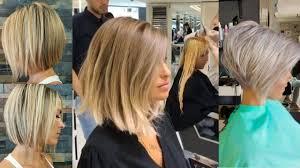 اجمل قصات شعر قصير قصات شعر قصيره 8 Best Short Hair Cuts Compilation
