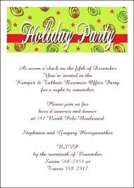 Company Party Invitation Wording Zoli Koze