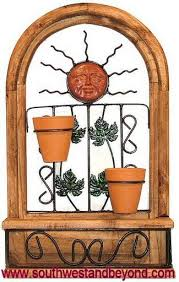 The arched design and warm rustic hues are sure to accentuate your style. Rustic Wall Decor Arched Window Frame
