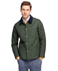 Green Quilted Jacket | Fit Jacket & Men's Quilted Jacket | Brooks Brothers. Forest Green ... Adamdwight.com