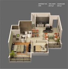 apartment architecture design. Modren Apartment 2 Bedroom Apartments Luxury 50 Two Apartment House Plans Architecture  Design And