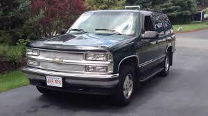 1995 Chevy Tahoe LT 4x4 V8 5.7L K1500 SUV Truck - YouTube