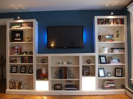 Premade Built In Bookcases Turning Ikea Bookshelves Into Builtins Diy Fan Ikea Billy And