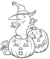 Ghost Coloring Page Embroidery Patterns Pinterest Halloween