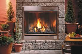 outdoor fireplace kits stones