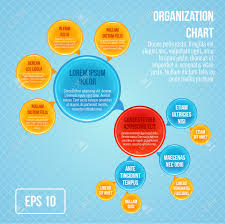 Bubble Organizational Chart Organizational Chart Infographic Business Bubbles Circle Work
