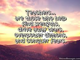 Quotes For Teachers From Students Gorgeous Thank You Notes For Teacher Messages And Quotes WishesMessages